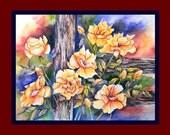 Texas Yellow Roses