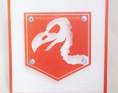 Vulture Aid - Call of Duty Black Ops - Zombie Perk - Limited Edition - paint on plexiglass - Orange & White