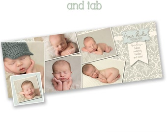 INSTANT DOWNLOAD - Facebook timeline cover photoshop template and coordinating profile thumbnail - 0870