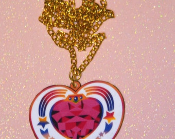 Cosmic Heart Compact Sailor Moon necklace