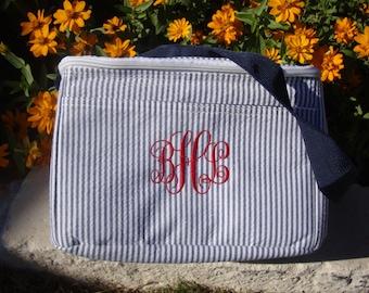 Lunch Bag for Bridesmaids, Sororities, School, Children, or Work Gifts Monogrammed