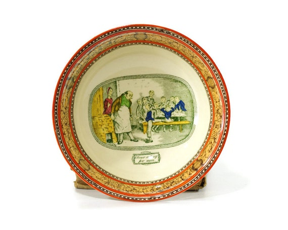 Vintage Transferware Bowl Charles - 57.2KB