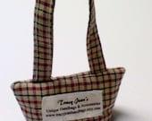 Maine Balsam Fir Scented Mini Bag in Rustic Plaid