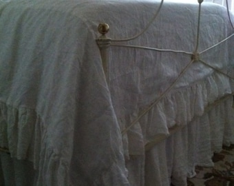 Deposit Listing for Custom Washed Linen Bedding by Cottage and Cabin