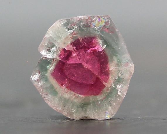watermelon tourmaline precious gemstone 16mm 6656 by