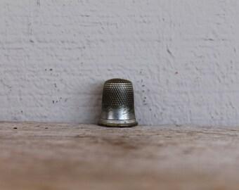 Vintage Metal Thimble