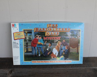 Vintage Baby Sitters Club Mystery Game, Vintage Game, 1992