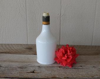 Pretty White Bottle
