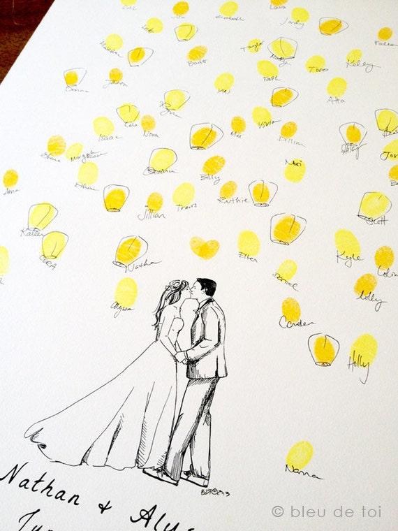 Pleins d 39 id es d 39 arbres empreintes originaux pour votre - Arbre decoratif pour mariage ...