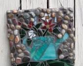 Watering Can Garden Mosaic