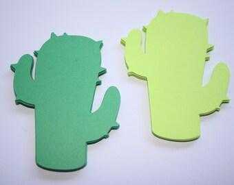 18 x Cactus Die Cuts