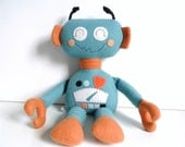 Robot - Build Your Own Robot Doll - Stuffed Robot - Kids - Toy - Stuffed Toy - Rag Doll - Plushie Toy