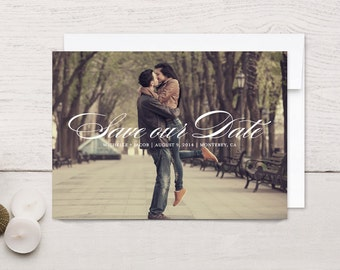 Save the Date Cards Simple Script