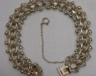 Vintage Gold Filled Bracelet for Charms by TREBOR