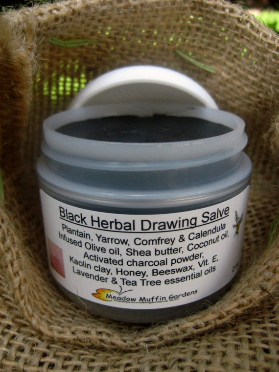 Black salve drawing ointment