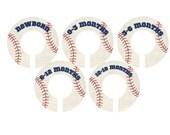 Vintage Style Baseball Closet dividers