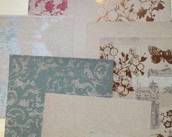 Paper Pack-Love Letter-Crate Paper-Scrapbook Paper-15-6 x 6