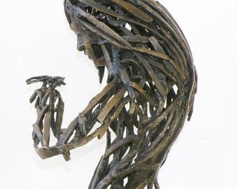 Dragonfly, a new bronze sculpture