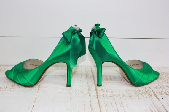 wedding shoes emerald green bridal shoes emerald green shoes