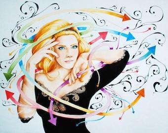 Spring 2013: original watercolor painting