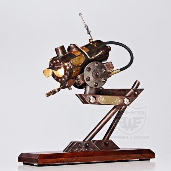 AT-SP Steampunk Walker desk lamp