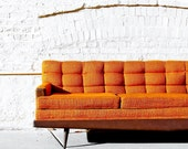 Vintage Howard-Parlor Sofa Couch - Apartment528
