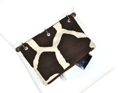 Giraffe Patterned Case for 3 Ring Binder  - Back to School - Ready to Ship - malibuquilts