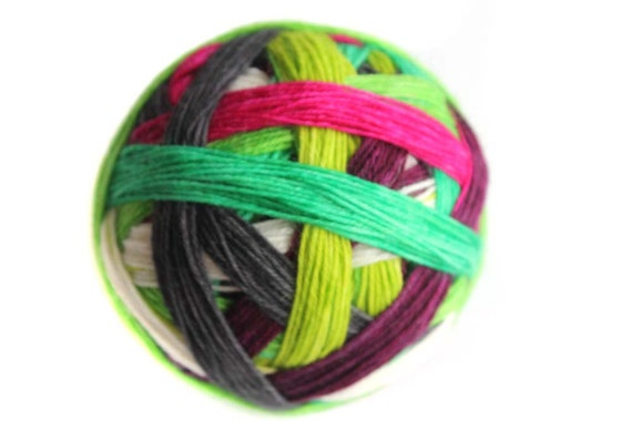Tangy Self-Striping Sock Yarn in Knock Your Socks Off