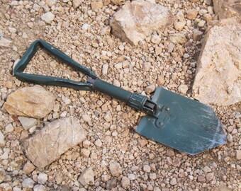 Folding Military Shovel Camping Trenching Emergency Shovel