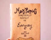 Mary Poppins Notebook