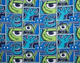 SALE  NEW Disney Pixar Monsters INC University Mike & Sulley Fleece Nap Blanket Throw
