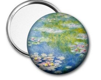 Water Lillies Pocket Mirror or Bottle Opener