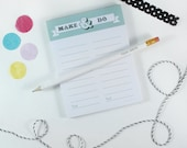 To Do List Note Pad, Make & Do