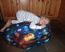 Planet Bean Bag Cover - Mars, Venus, Saturn, Mercury, Jupiter, Uranus, Moon, Stars, Solar System, Space, Blue, - Etsy Kids - Gifts under 75