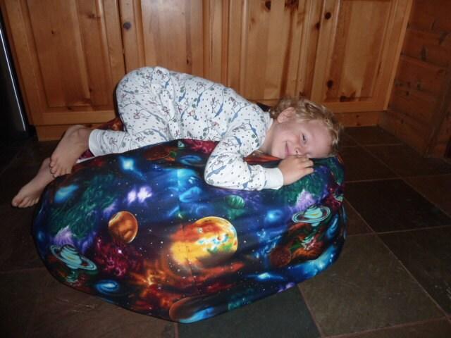 Elle Planet Bean Bag Chair Cover Space Solar System