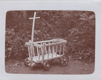 Vintage Photo - Old Wagon (ZZZ)
