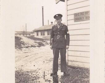 Man in Uniform - Vintage Photograph (III)