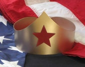 Wonder Woman Costume Crown - zedszombieranch