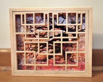 Angel Oak side shot in squared frame