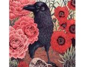 "Crow Effigy 8x10"" Print"