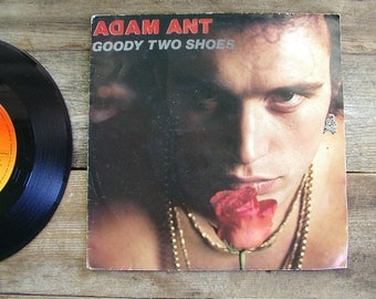 ADAM ANT with picture sleeve Goody Two Shoes vintage 1980s 45 rpm record