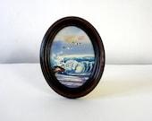Vintage Surf Painting/Ocean Painting