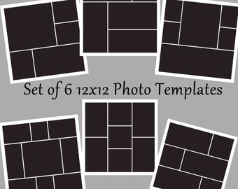 photo template psd photo collage template photography templates