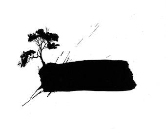 Alive - Original Ink Drawing
