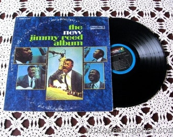 JIMMY REED  Vinyl lp Record Bluesway The new Jimmy Reed Album NM-