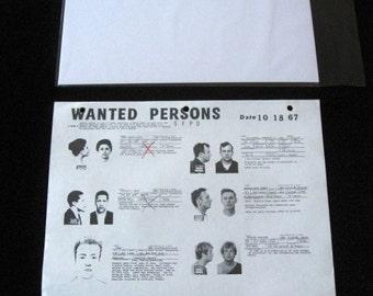 Police Bulletin No. 119 San Francisco Police Department SFPD Wanted Mug Shots 1967