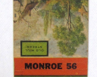 1930s Yalowich Drugs Rochester NY Phone Monroe 56 Matchcover