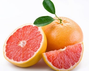 2 fl oz (60ml) GRAPEFRUIT ESSENTIAL OIL  100% Pure Essential Oil - Aromatherapy - Sauna & Steam Room Use - Laundry / Cleaning Additive
