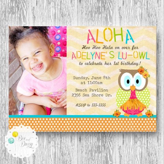 Owl Birthday Invite with nice invitations sample