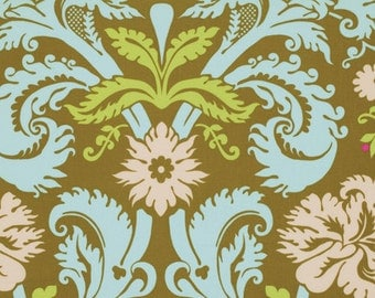 Amy Butler Fabric - Acanthus in Olive from the Belle Collection - Half Yard
